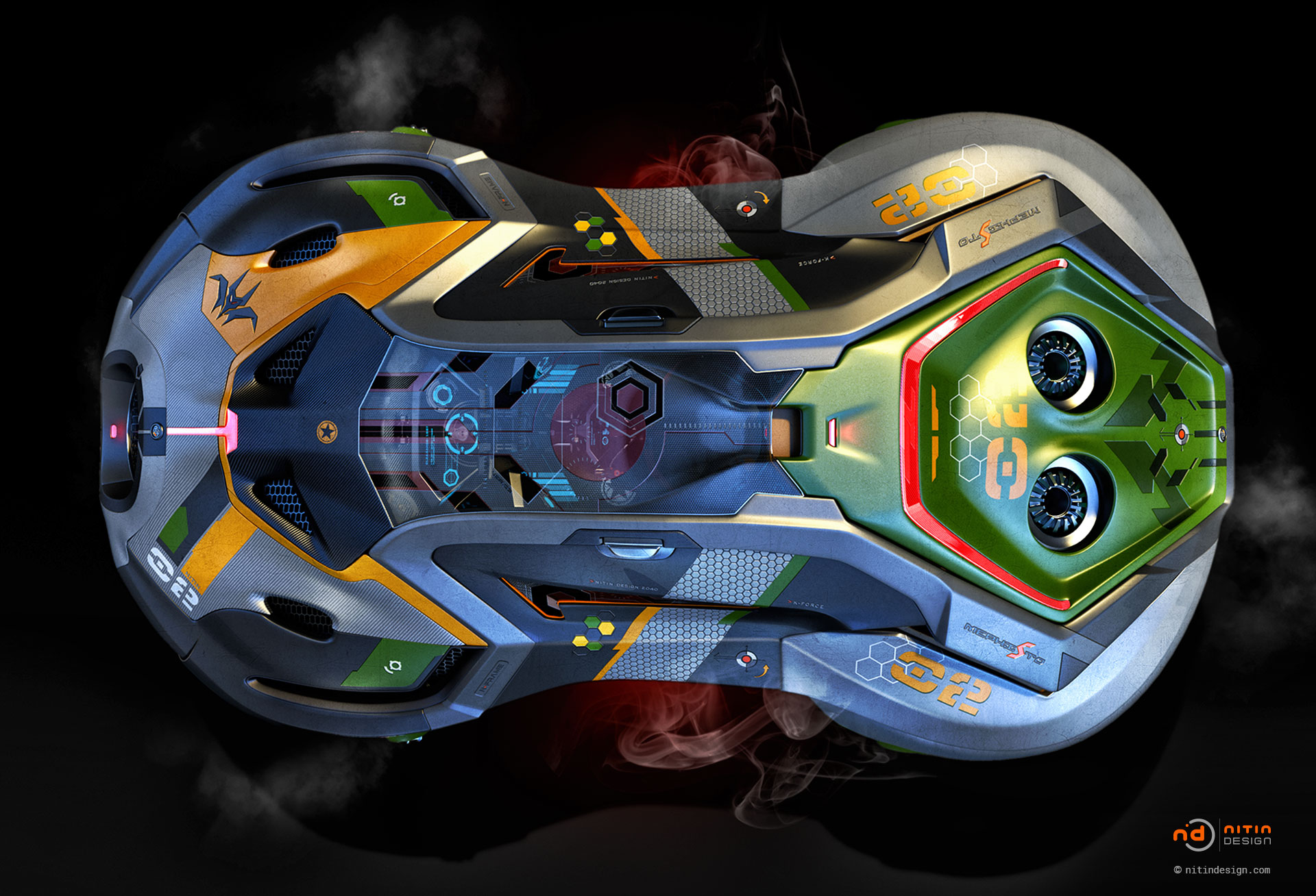 Mephisto-Flying-Vehicle-Nitin-Design