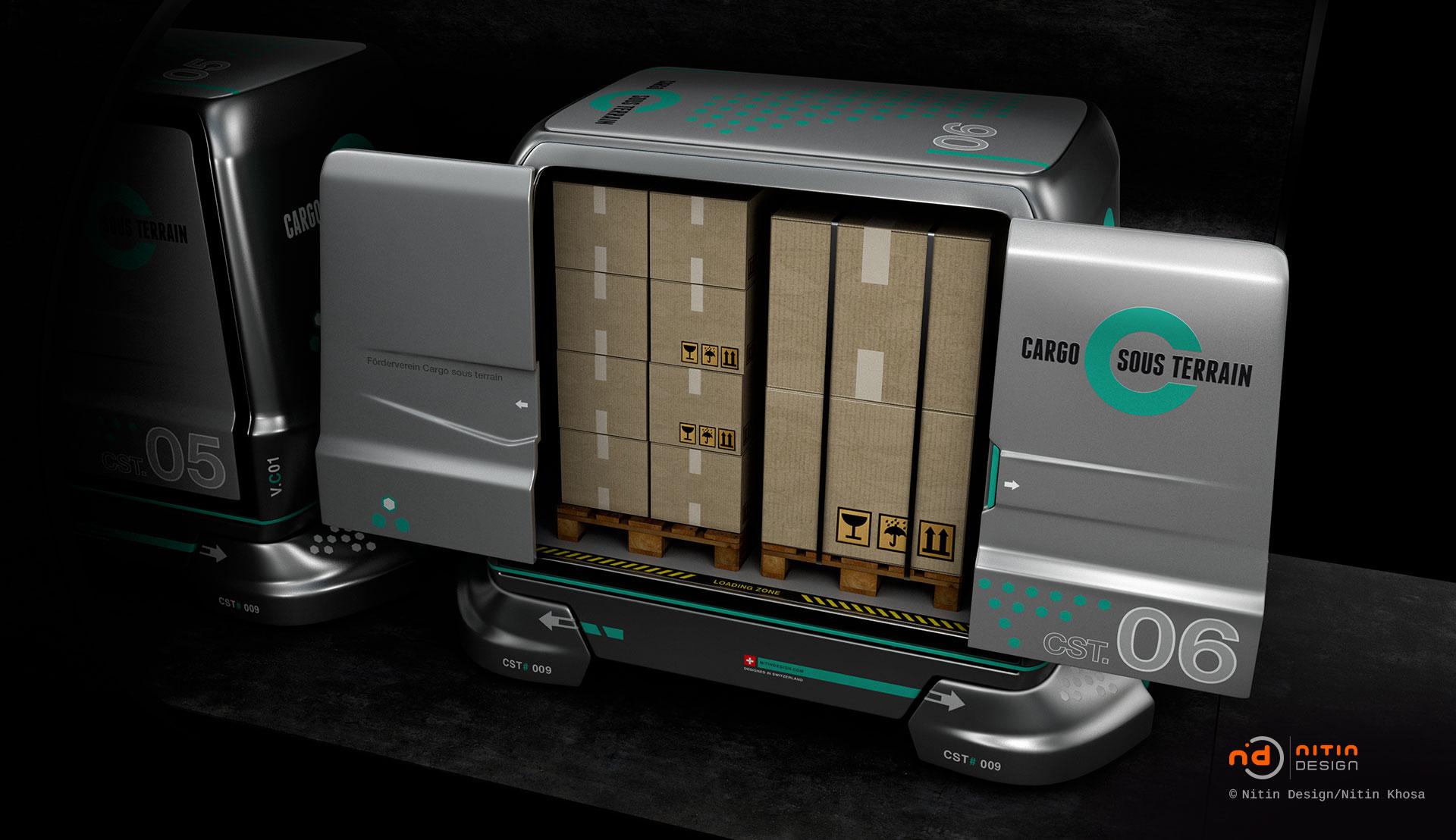 Cargo-sous-terrain-Nitin-Design