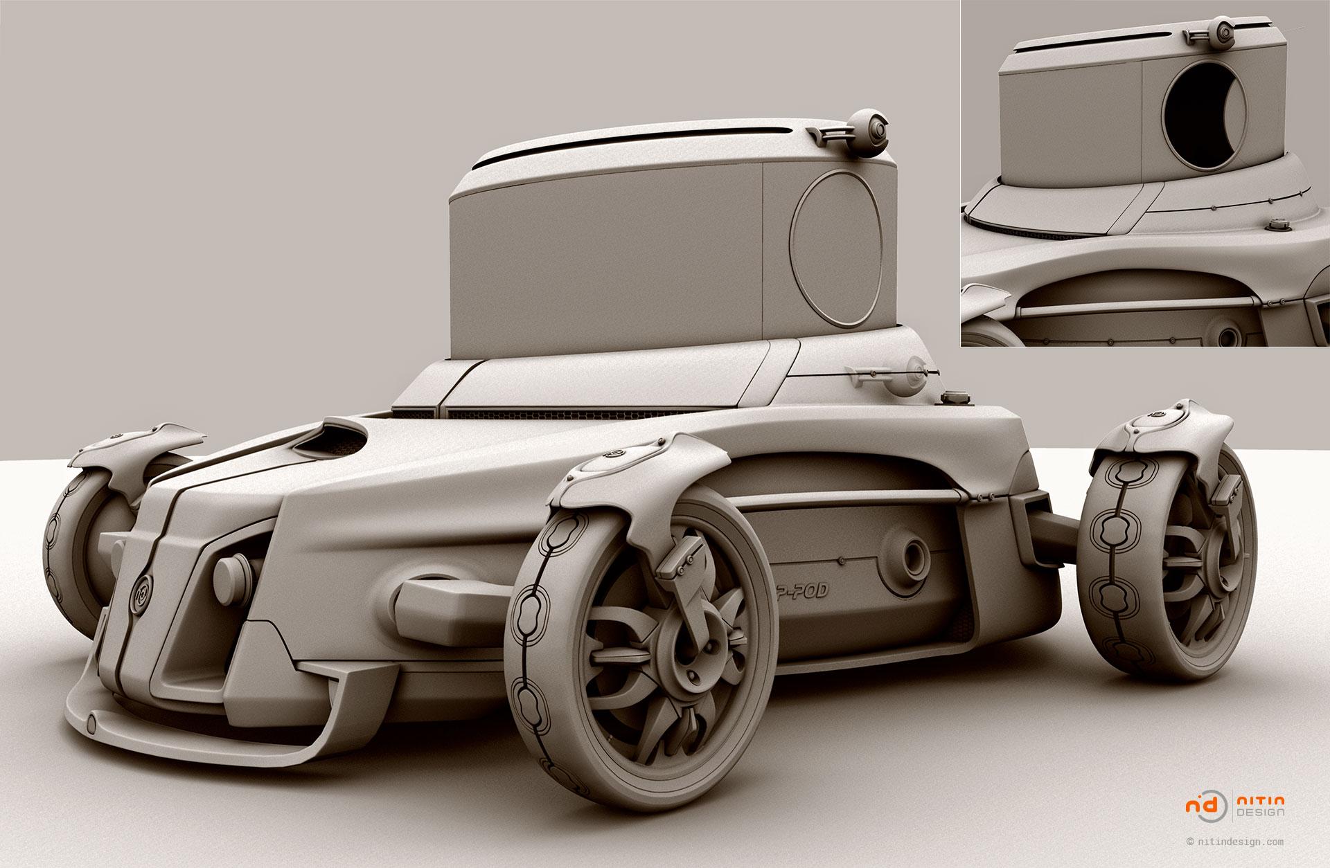 P-Pod-Vehicle-Nitin-Design