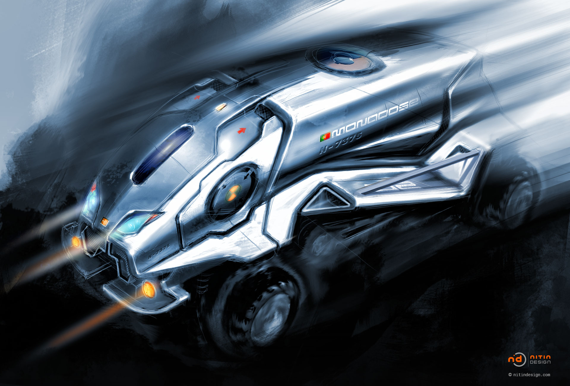 Mongoose-Vehicle-Nitin-Design-Nitin-Khosa